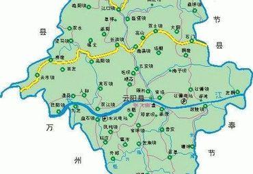 【云阳县地图】云阳县全图查询_2017中国重庆云阳县