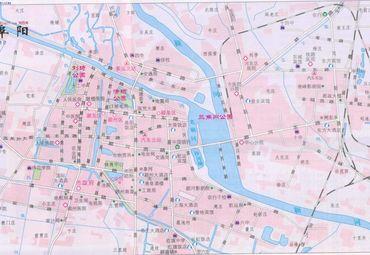 阜阳市地图全图详细