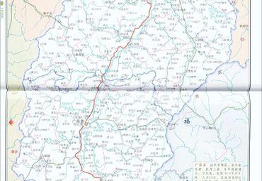 江西抚州南丰县,广昌县地图图片