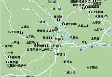 【清西陵地图】_清西陵在哪里_清西陵怎么走_途牛
