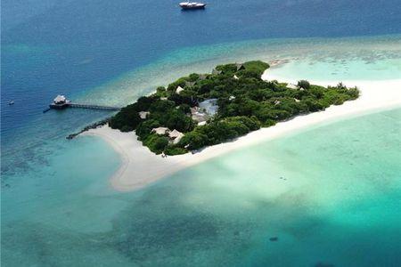 马尔代夫马迪瓦鲁岛madivaru4晚6日自助游>上海美佳直飞,3泳池别墅1