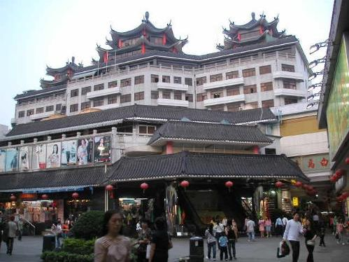 深圳东门步行街