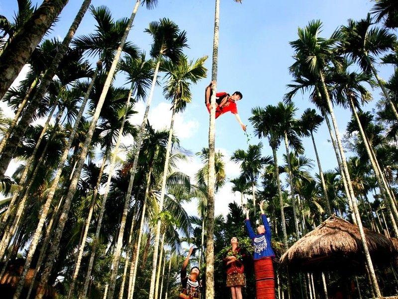 万平嘉园周边美景(7)保亭槟榔谷(之二) - 千千的姥爷 - shanxiuruifeng 的博客