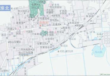 【淮北地图】淮北全图查询_2016中国安徽淮北电子地图