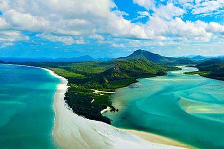 <澳大利亚汉密尔顿岛4日航空游>不含导游(当地游)澳洲直销