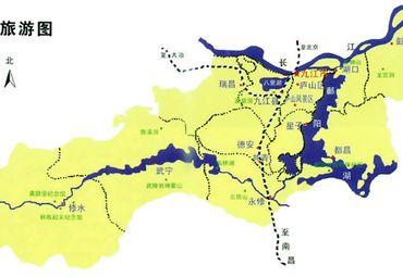 九江旅游_江西九江旅游图