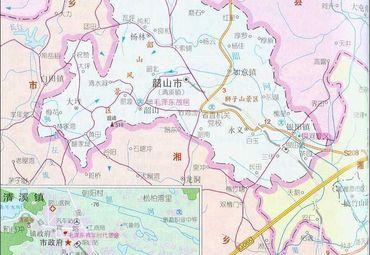 湘潭韶山地图