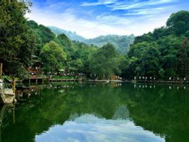 前往万绿谷风景区前往【万绿谷风景区】踏青索溪:位于广东省河源市