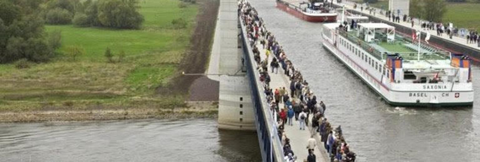 德国马格德堡市水桥4
