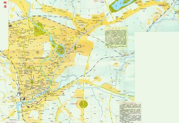 江西萍乡市城区地图