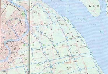 浦东新区地图