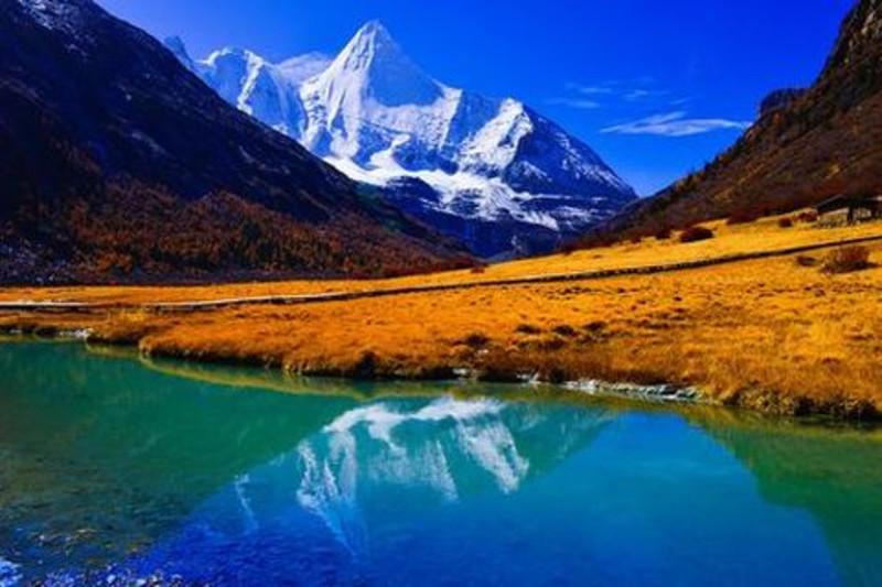 稻城亚丁图片,高清大图_山峰山脉素材