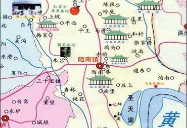 山西旅游 运城地图