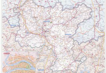 广东省韶关市地图图片