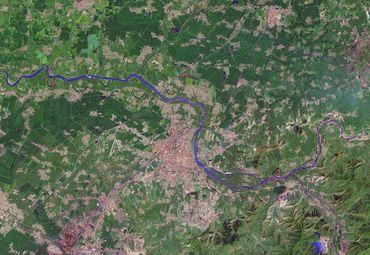 辽宁省辽阳市卫星地图