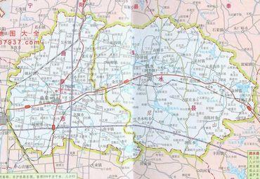 泗水县地图 2