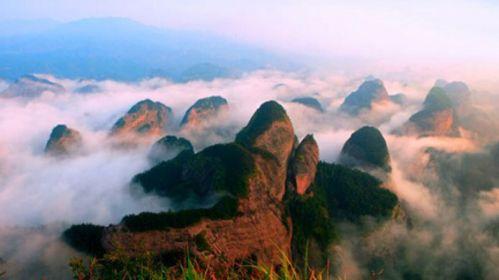 桂林-资源天门山-八角寨双飞4日游>独立小团,丹霞风光,摄影之旅