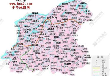 安徽池州市地图 (2图片