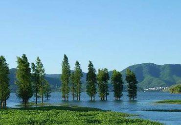 四明湖图片_四明湖旅游图片_四明湖旅游景点图片大全