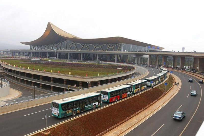 长水机场到昆明火车站