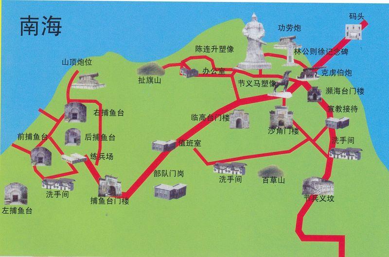 虎门地图全图可放大
