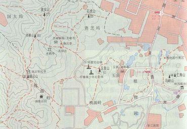 玉泉山地图