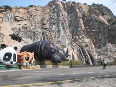游览西霞口野生动物园