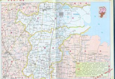 山东东营广饶县地图图片