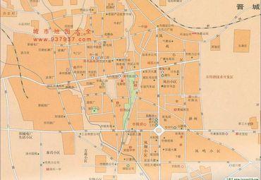 【晋城地图】晋城全图查询_2018山西晋城电子地图下载