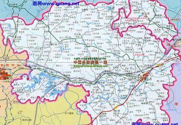 湖南省韶山市地图
