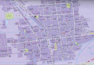 山西晋中城区地图