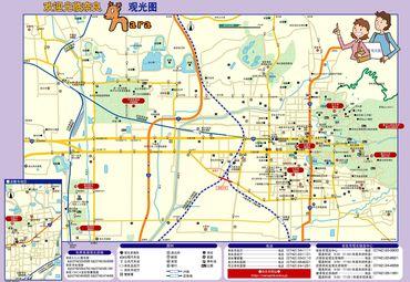 【奈良县地图中文版】奈良县全图查询