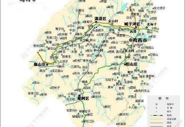【鸡西地图】鸡西全图查询_2017黑龙江鸡西电子地图