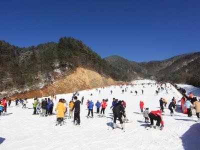 大明山滑雪2