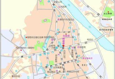 西双版纳景洪市地图_西双版纳地图全图