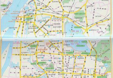 南京市城区地图