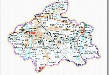 广东东莞常平镇地图图片