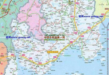 台山市地图_台山市地图的图库图片