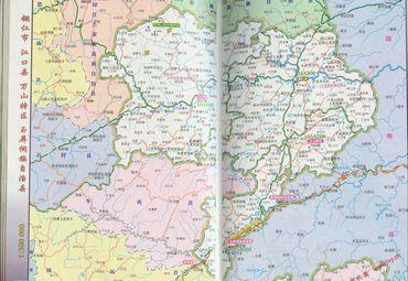铜仁部分地区地图