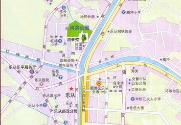 如何在百度地图上只显示街道 使用电子地图先项 -地图上附有街道名图片