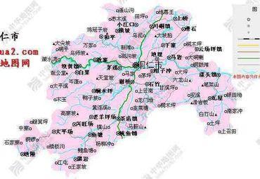 铜仁县地图