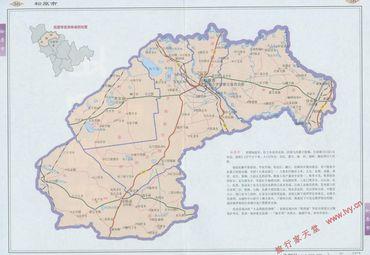 松原市地图2