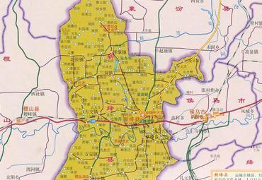 【河津市地图】河津市全图查询_2016中国山西运城河津图片