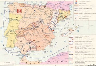 西班牙导游图