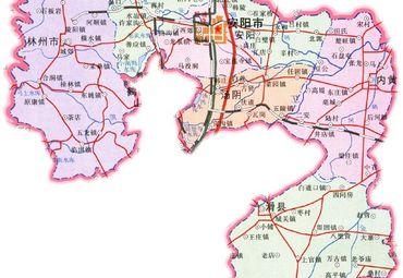 【安阳地图】安阳全图查询_2018河南安阳电子地图下载