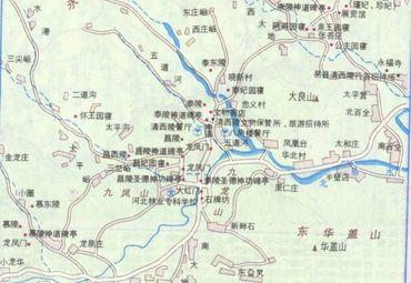 清西陵地图