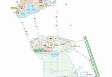 澳门旅游地图