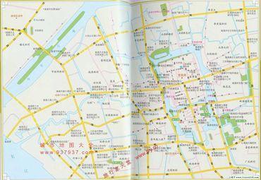 江苏南通市区地图