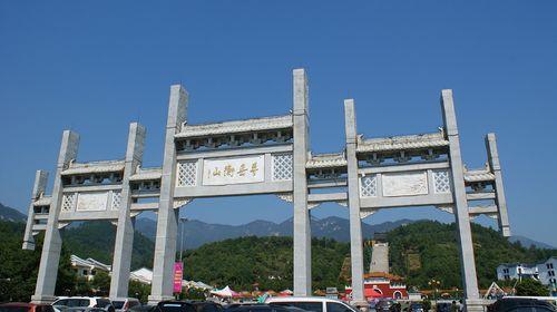 欣赏着古代建筑,去融合了八个道观和八个佛寺的南岳图片