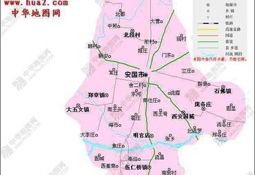 【保定地图】_全图/查询